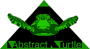 Abstract Turtle Logo